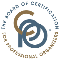 logo for The Board of Certification for Professional Organizers